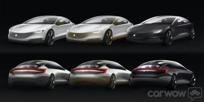 apple car color options