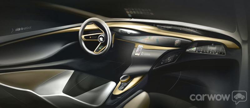 apple car interior