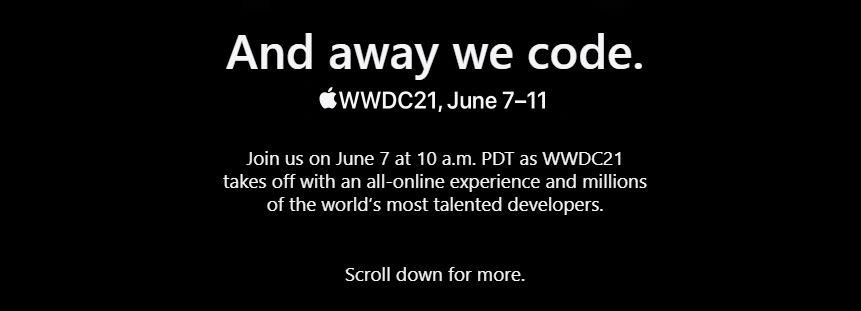 apple wwdc 2021 on june 7