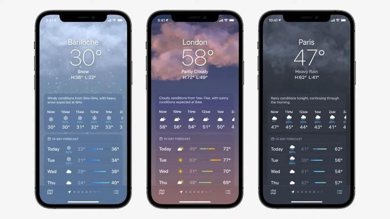 ios 15 new weather app