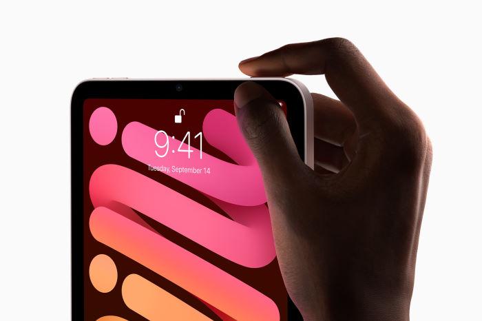 Touch ID on the new ipad mini 6