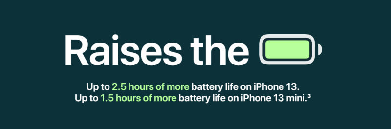 iphone 13 and iphone 13 pro brings better battery life