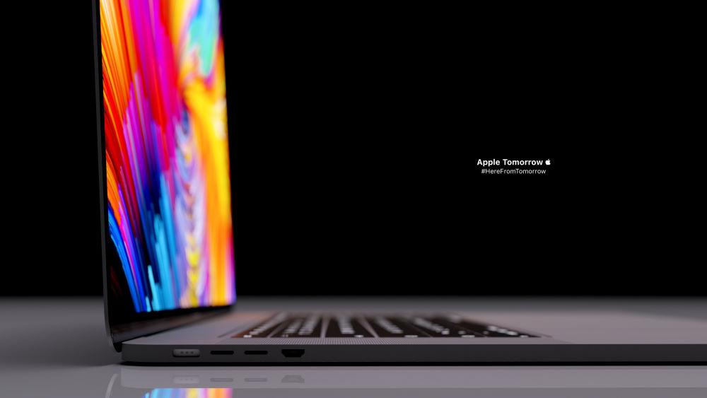 apple macbook m1x ports render by apple tomorrow