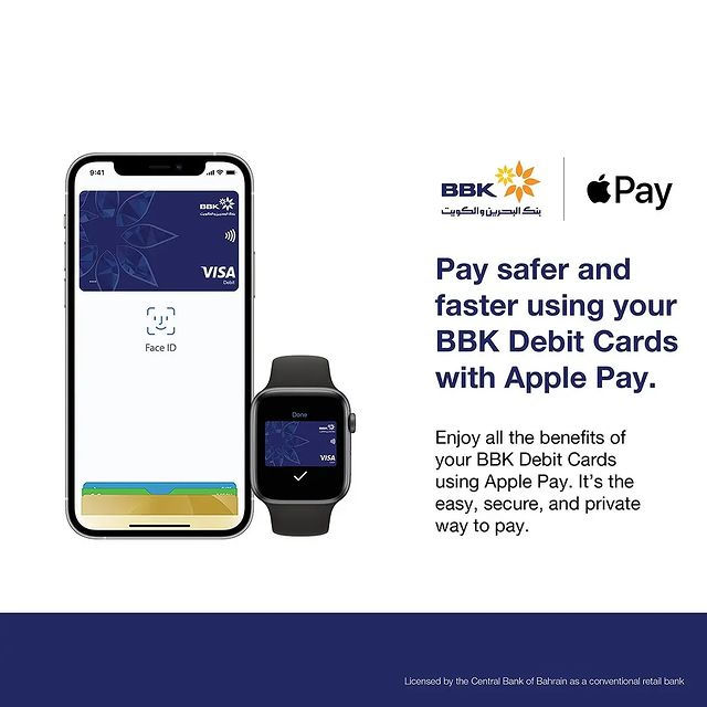 bbk launches apple pay in bahrain