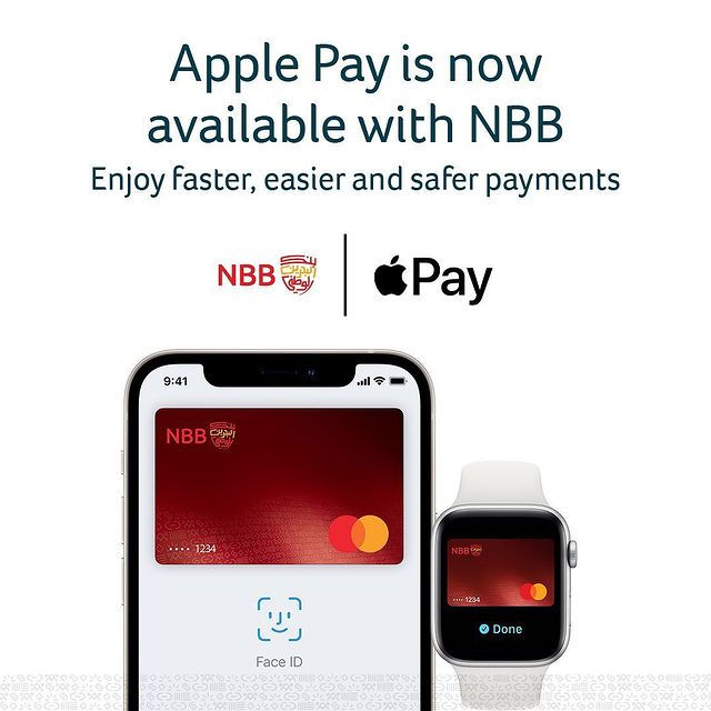 nbb bahrain launches apple pay