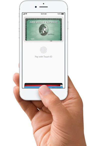 apple pay on touch id iphone models